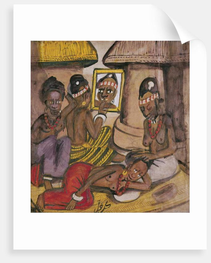 Mali Women, c.1929 by Kalifala Sidibe