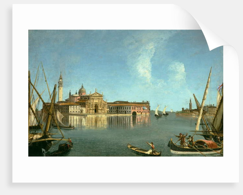 San Giorgio Maggiore across the Venetian Lagoon by Michele Marieschi