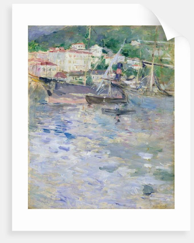 The Port, Nice, 1882 by Berthe Morisot