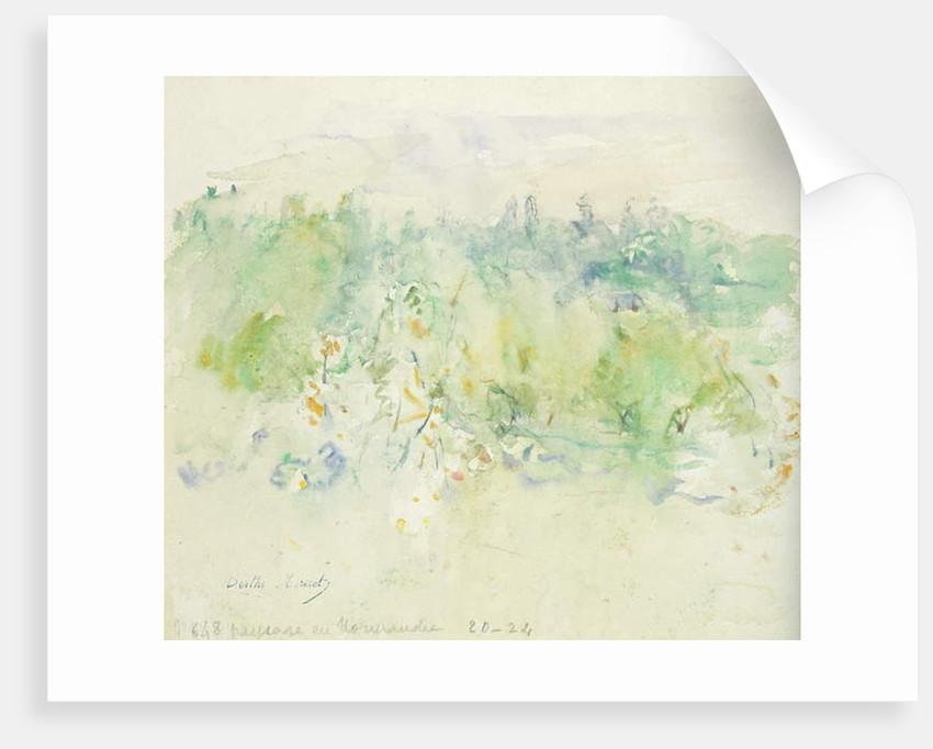 Normandy Landscape, 1880 by Berthe Morisot
