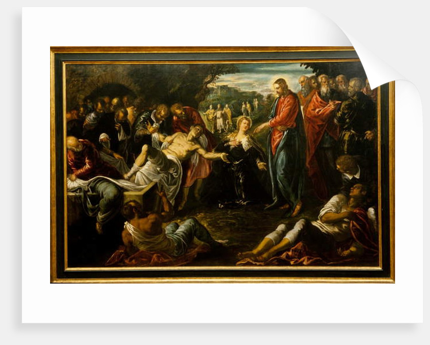 The Raising of Lazarus, 1570s–80s by Jacopo Robusti Tintoretto