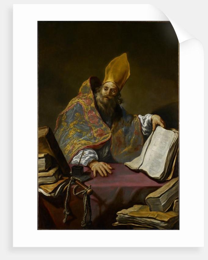 St. Ambrose, c.1623-25 by Claude Vignon