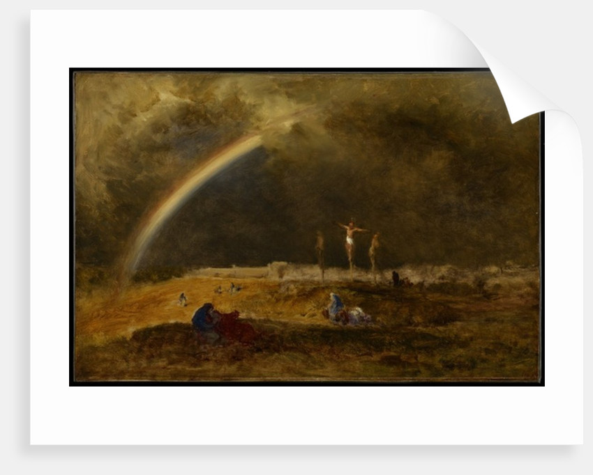 The Triumph at Calvary, c.1874 by George Snr. Inness