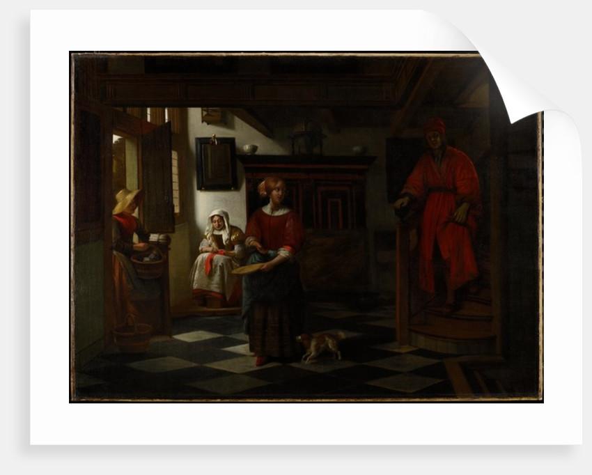 The Asparagus Vendor, 1675-80 by Pieter de Hooch