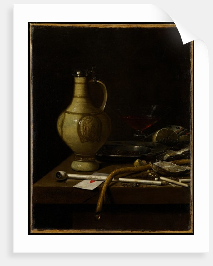 Still Life, 1658 by Jan Jansz. van de Velde