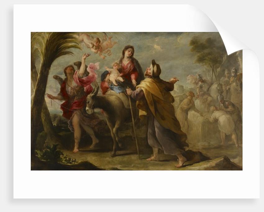 The Flight into Egypt, 1669 by Jose Moreno
