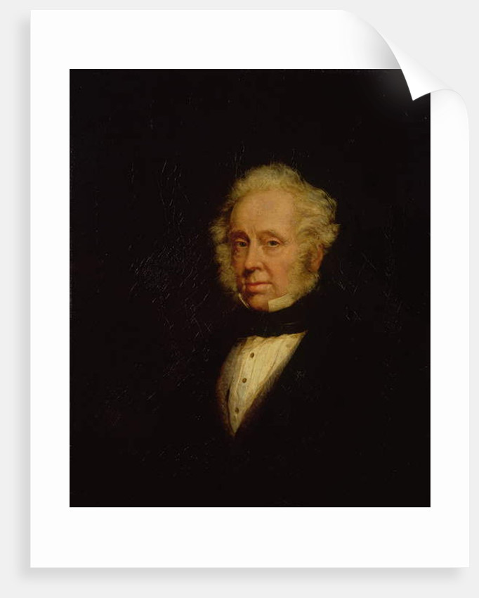 Portrait of Lord Palmerston by Marshall Claxton
