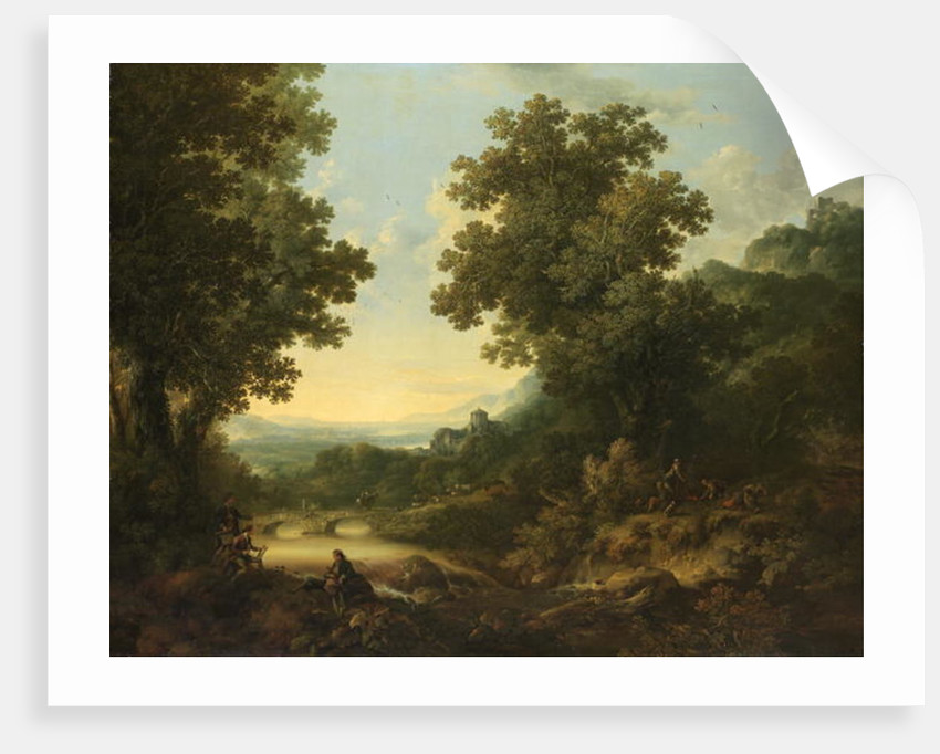 Pastoral Landscape by George of Chichester Smith