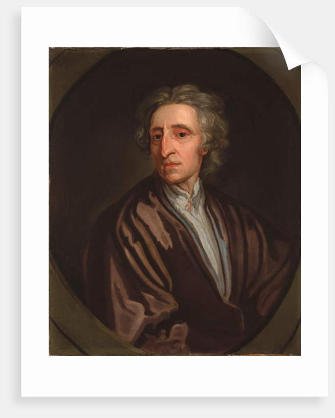 Portrait of John Locke by Godfrey Kneller