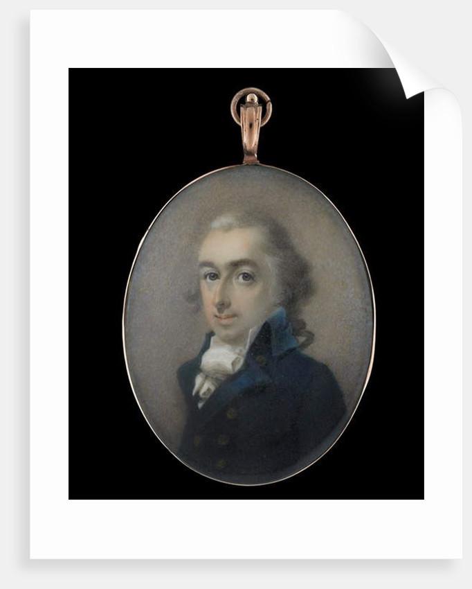 Portrait miniature of a Gentleman by Abraham Daniel