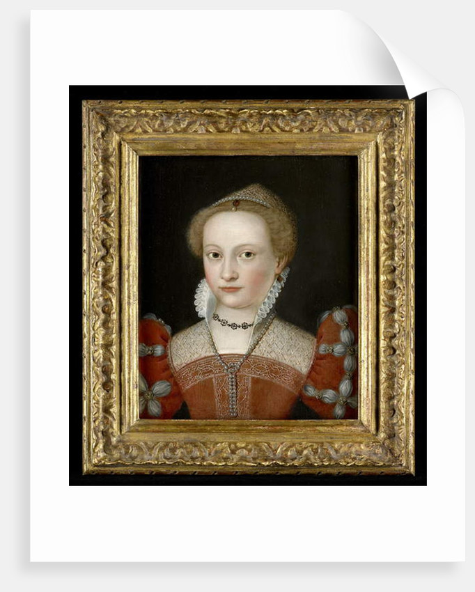 Portrait of a Young Lady by Francois (circle of) Clouet
