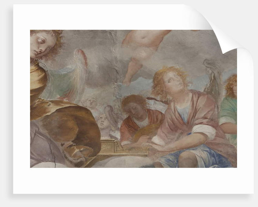 Angels, musician angels and puttos by Isidoro Bianchi