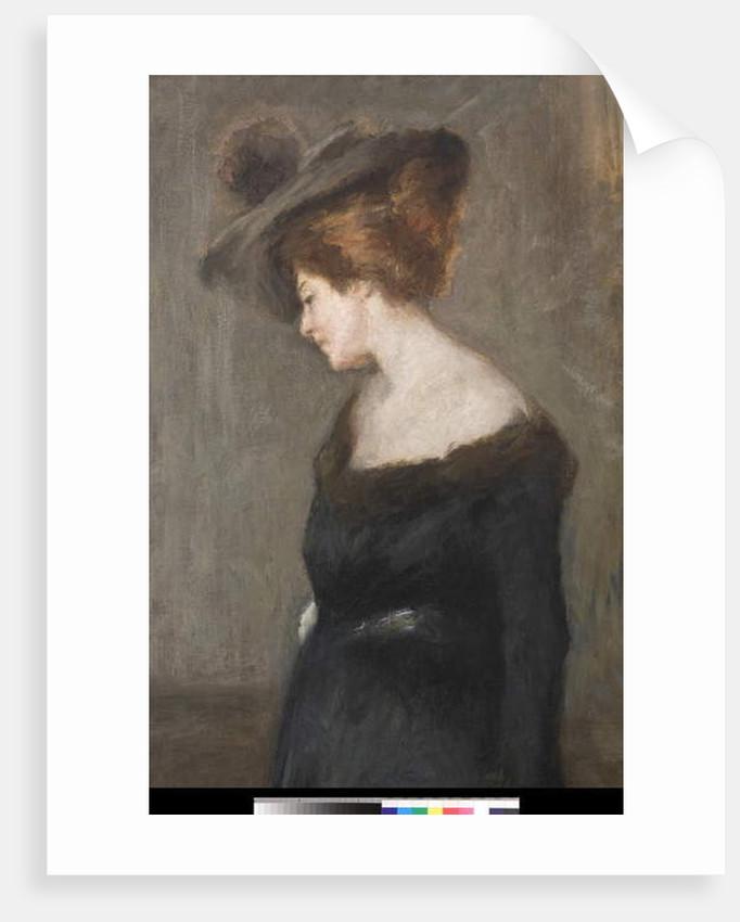 Portrait of a Lady, 1903 by Emilio Gola