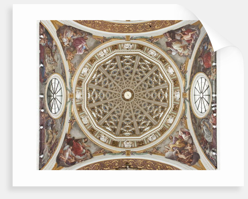 Dome with frescoes by Andrea the Elder Appiani