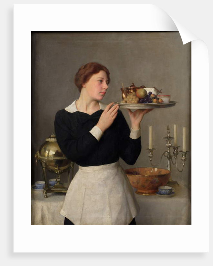 The Waitress, 1923 by William McGregor Paxton