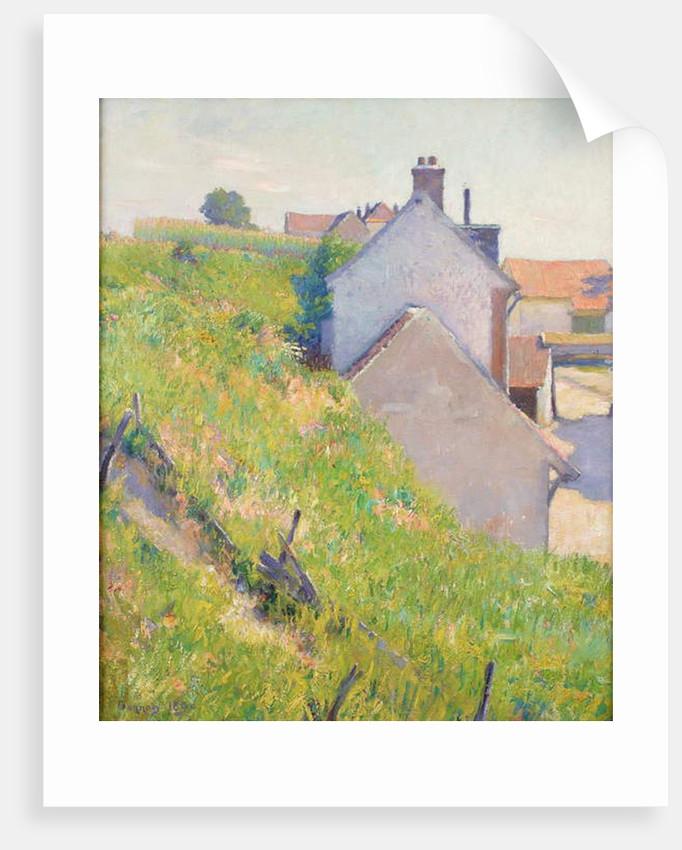 A Sunlit Hillside, 1890 by Robert William Vonnoh