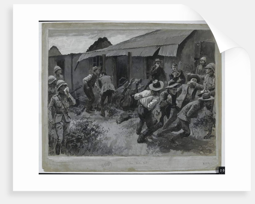 The Biter Bit: An Incident with Sir Redvers Bullers Force, 1900 by Gordon Frederick Browne
