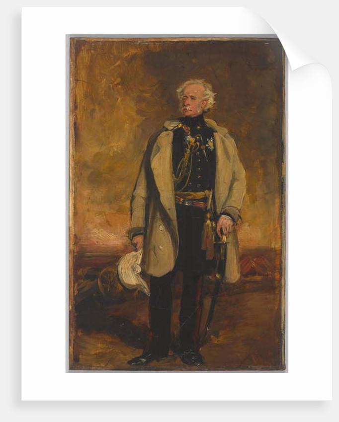 Lieutenant-General Viscount Hugh Gough, 1853 by Francis Grant