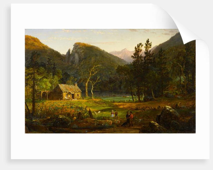 Eagle Cliff, Franconia Notch, New Hampshire, 1858 by Jasper Francis Cropsey