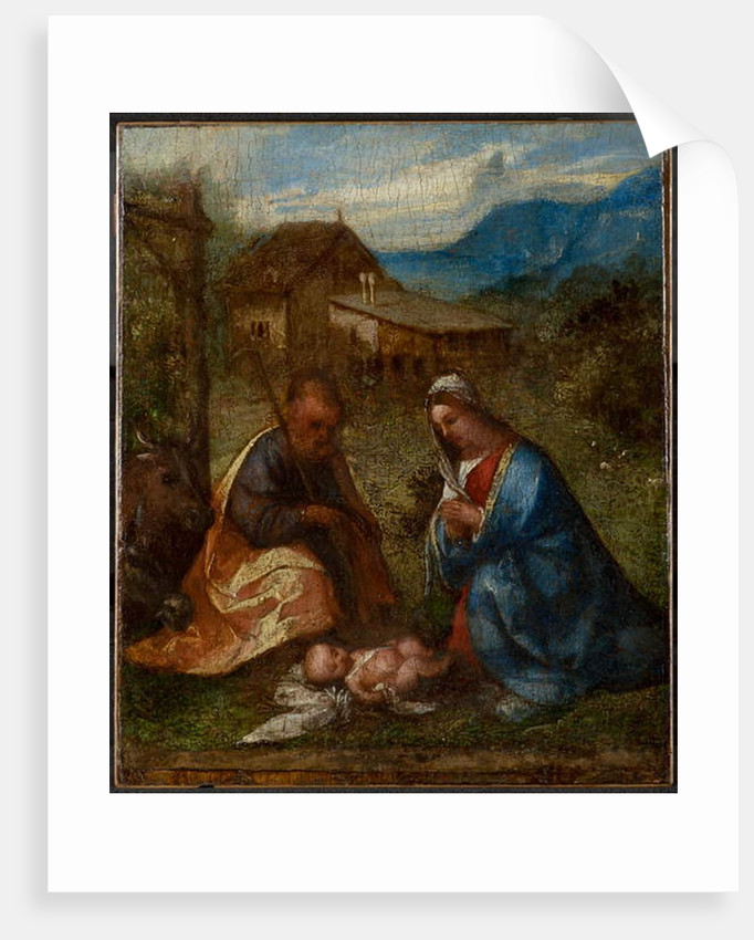 The Adoration of the Child, c.1507-1508 by Titian