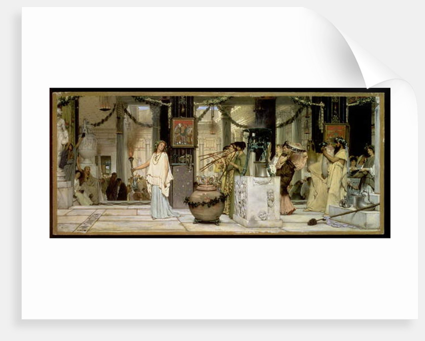 The Vintage Festival, 1871 by Lawrence Alma-Tadema