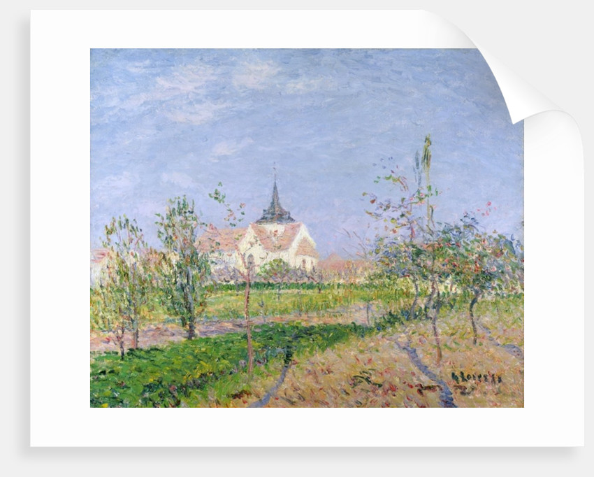 The Church at Vaudreuil, c.1905 by Gustave Loiseau