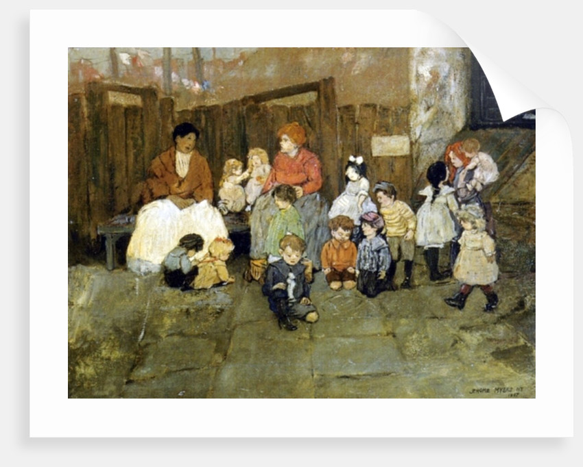 Street Children, 1907 by Jerome Myers
