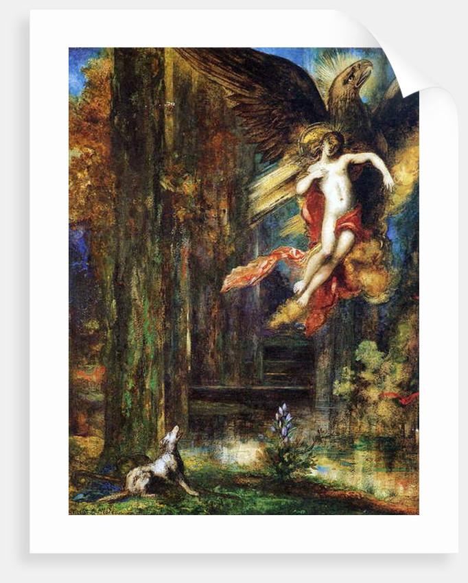 Ganymede, 1886 by Gustave Moreau