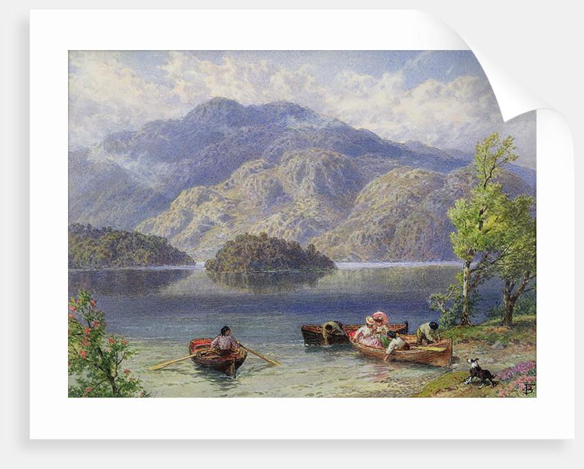 Ben Venue and Ellen's Isle, Loch Katrine by Myles Birket Foster