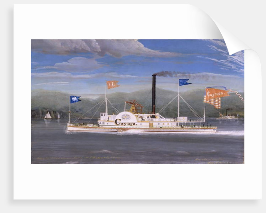 Steamboat Cayuga by James Bard