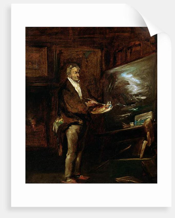 Portrait of Joseph Mallord William Turner, c.1845 by John Gilbert