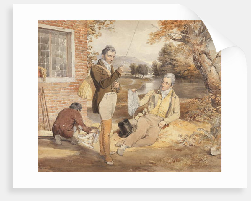 Fishing by John Frederick Lewis