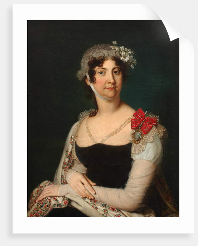 Countess Natalia von Buxhoeveden, 1809 by Vladimir Lukich Borovikovsky