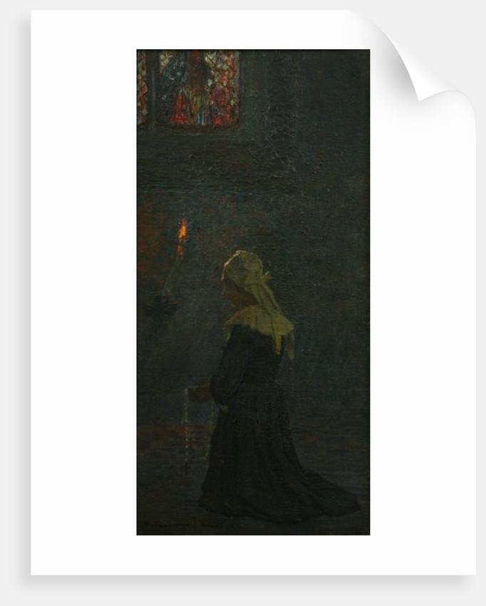 At Prayer, 1905 by George Sherwood Hunter