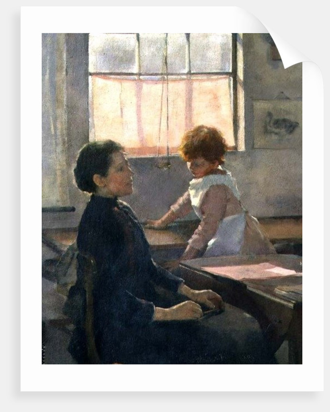 School is Out, 1889 by Elizabeth Adela Stanhope Forbes