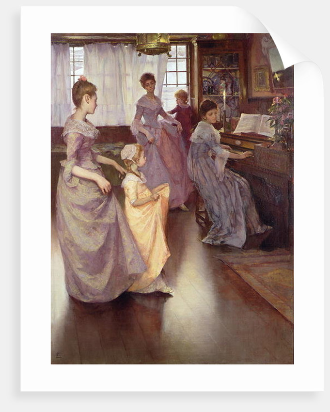 The Minuet, 1892 by Elizabeth Adela Stanhope Forbes