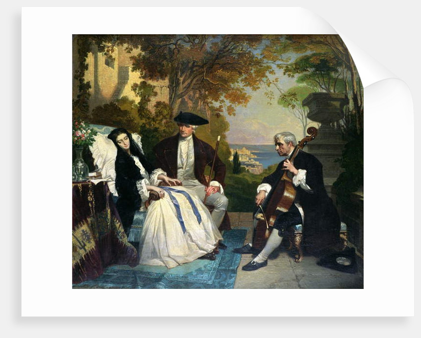 The Convalescent by Jean Jalabert