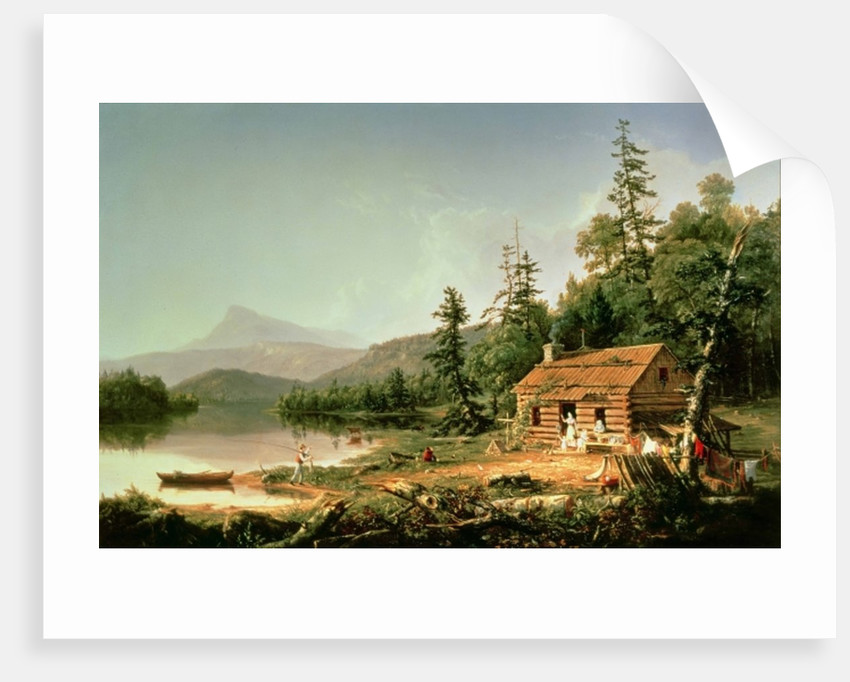 Home in the Woods, 1847 by Thomas Cole