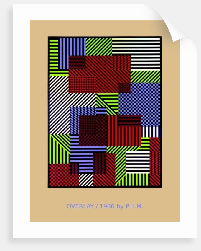 OVERLAY.86 by Peter McClure