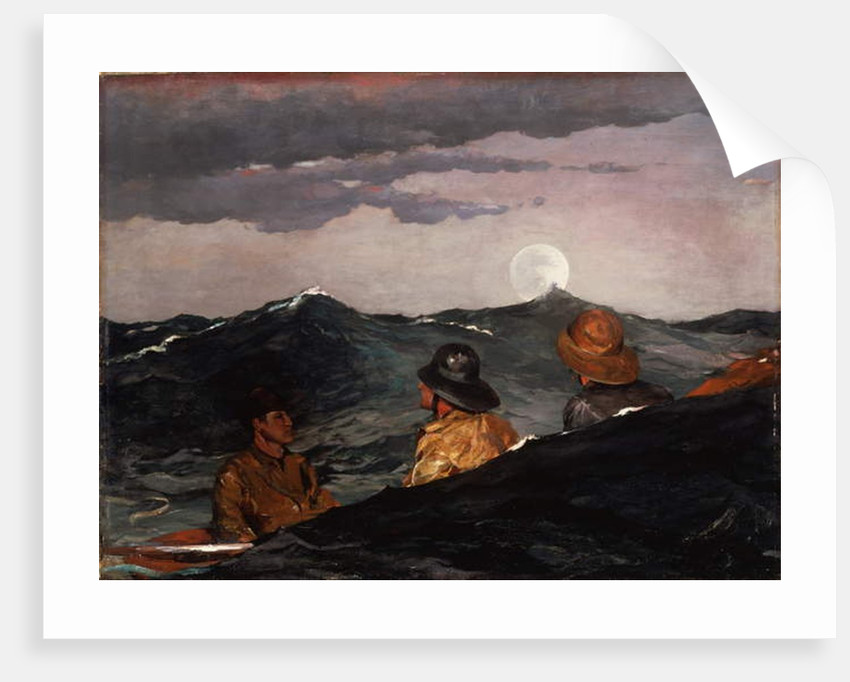 Kissing the Moon, 1904 by Winslow Homer