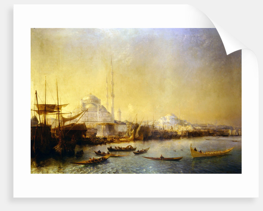 An Extensive View over Constantinople and the Golden Horn, 1840 by Jean Antoine Theodore Gudin