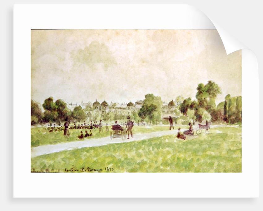 Regent's Park, London, 1890 by Camille Pissarro