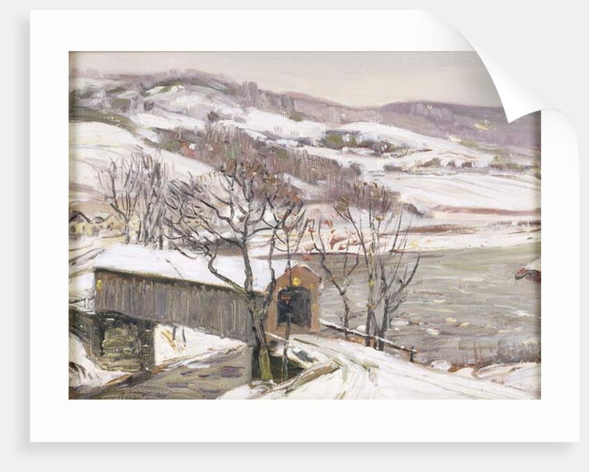 The Covered Bridge by George Gardner Symons