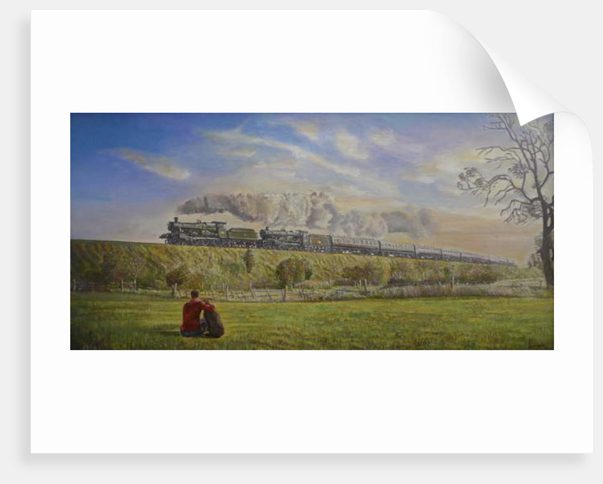 Great Western Glory, 2008 by Kevin Guild of Railway Artist Parrish
