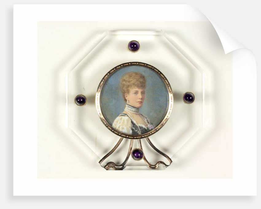 Queen Alexandra when Princess of Wales by English School