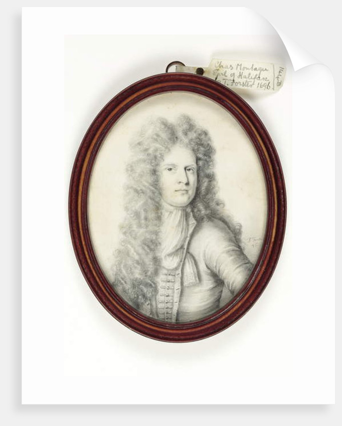 Charles Montagu, 1696 by Thomas Forster