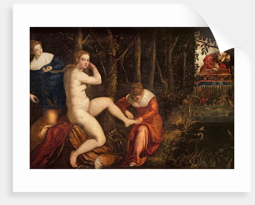 Susanna and the Elders by Domenico Robusti Tintoretto