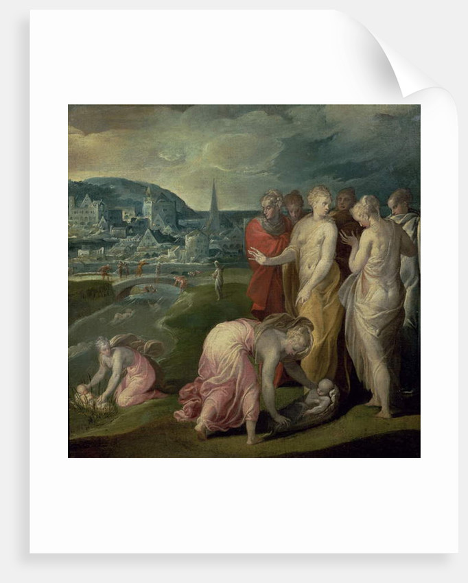 The Finding of Moses by Nicolo dell' Abate