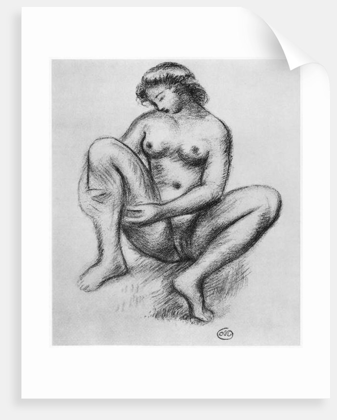 Female nude by Aristide Maillol