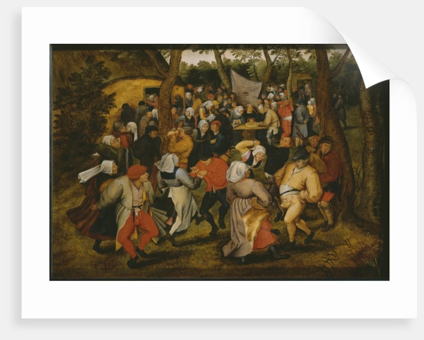 Open air wedding dance, 1610 by Pieter the Younger Brueghel